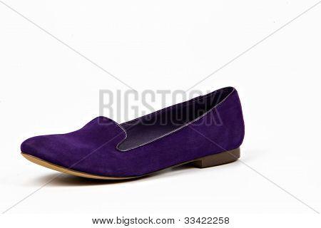 a short heel violet babette, women shoe poster