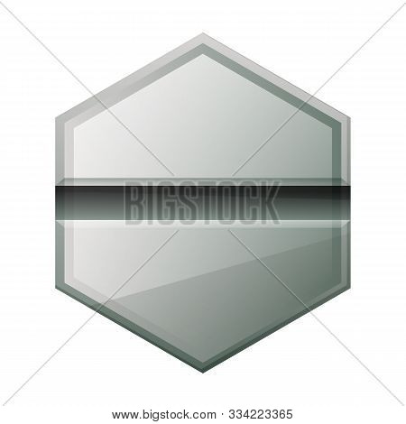 Fastener Head Vector Icon.cartoon Vector Icon Isolated On White Background Fastener Head.