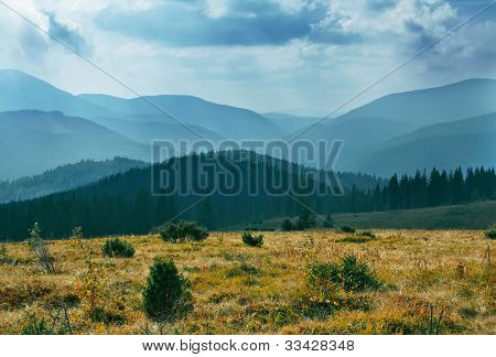 Cloud Mountain landscape