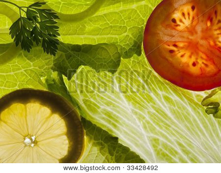 Fresh Salad Background