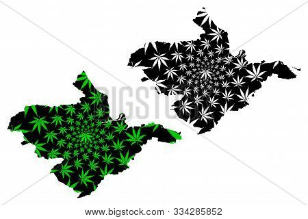 Falkirk Council (united Kingdom, Scotland, Local Government In Scotland) Map Is Designed Cannabis Le