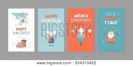 2020, Background, Banner, Blue Background, Branch, Cartoon, Childish, Christmas, Christmas Card, Col
