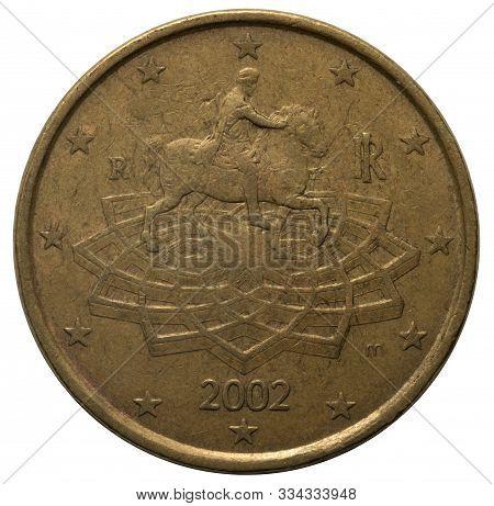 Euro Coin 50 Cents 2002.euro Coin 50 Cents 2002.euro Coin 50 Cents 2002