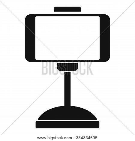 Smartphone Car Holder Icon. Simple Illustration Of Smartphone Car Holder Vector Icon For Web Design