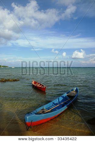 boat lean