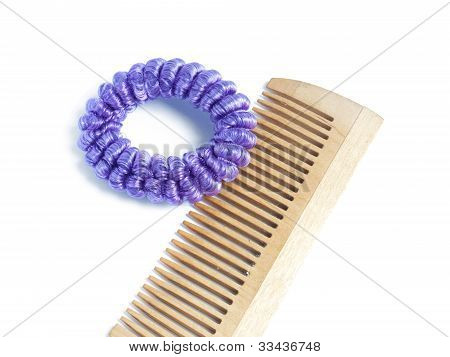 Hair Band And A Comb