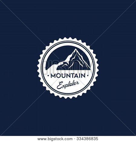 Mountain Explore Logo Designs,mountain Explorer Badge Logo Template