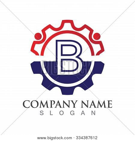 B Letter Logo Or Symbol Creative Template Design