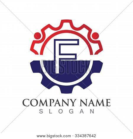 F Letter Logo Or Symbol Creative Template Design