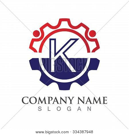 K  Letter Logo Or Symbol Creative Template Design