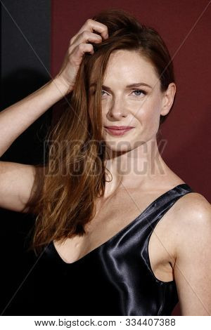 Rebecca Ferguson at the Los Angeles premiere of 'Doctor Sleep' held at the Regency Village Theater in Westwood, USA on October 29, 2019.