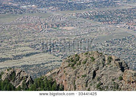 Urban Sprawl In Desert