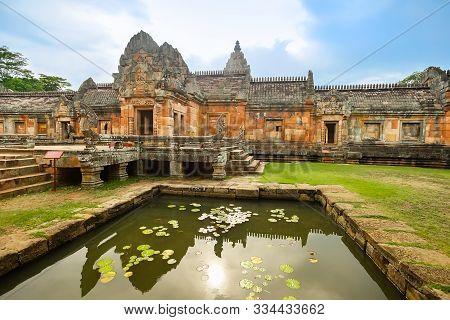 The Khmer Temple Prasat Hin Phanom Rung (phanom Rung Stone Castle) In Chaloem Phrakiat District, Bur