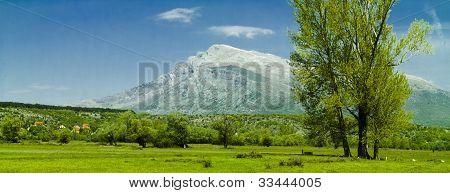 Mountain Dinara In Croatia