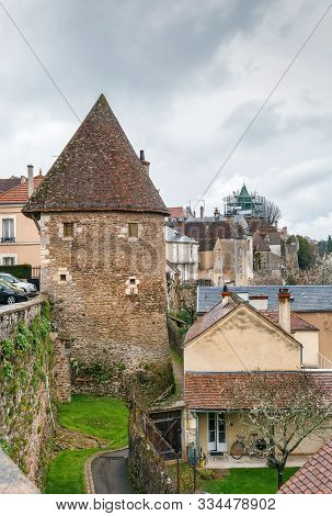 Tower Of The Escharguet, 1522 In  Avallon, France