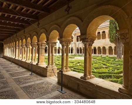 Arches Of The Benedictine Abbey