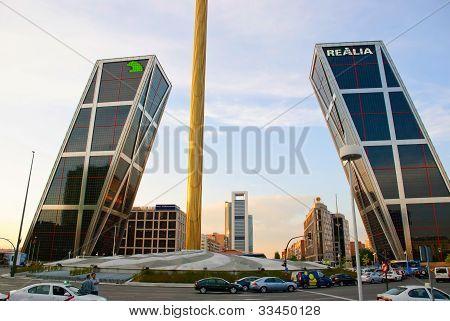 Torres Kio tower, Madrid