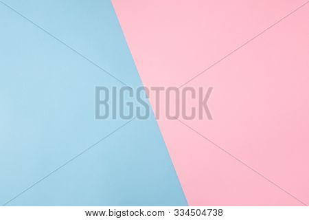 Photo Of Shared Divided Into Two Parts Background Harmonically Soft Pastel Colored Empty Space For F