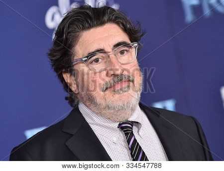 LOS ANGELES - NOV 07:  Alfred Molina arrives for the 'Frozen II' Premiere on November 07, 2019 in Hollywood, CA
