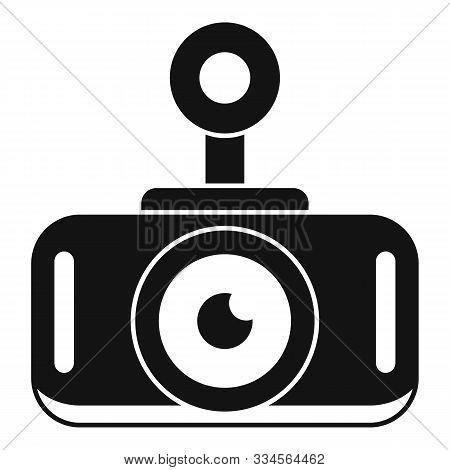 Modern Car Recorder Icon. Simple Illustration Of Modern Car Recorder Vector Icon For Web Design Isol