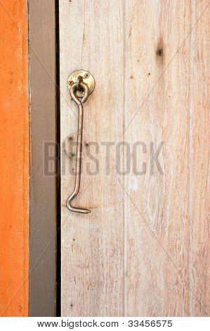 Old bold door