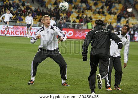 German Players Training