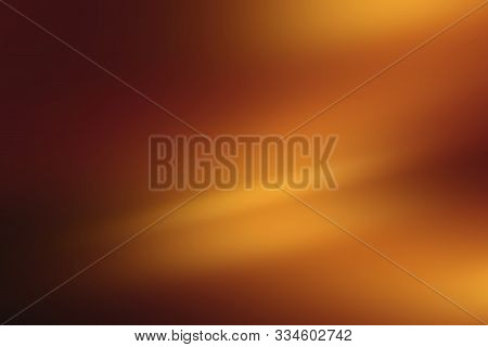 Gold Background Or Brown Background Of Gradient Smooth Background Texture On Elegant Rich Luxury Bac