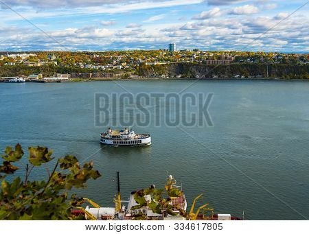 St Lawrence River - Quebec City - Canada