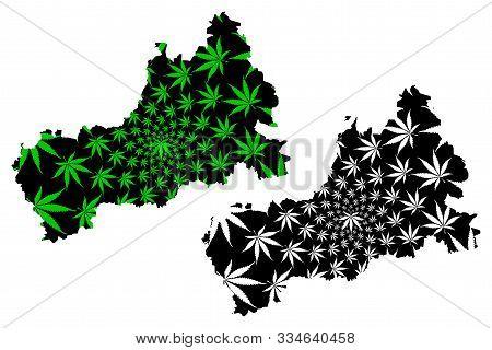 Cherkasy Oblast (administrative Divisions Of Ukraine, Oblasts Of Ukraine) Map Is Designed Cannabis L
