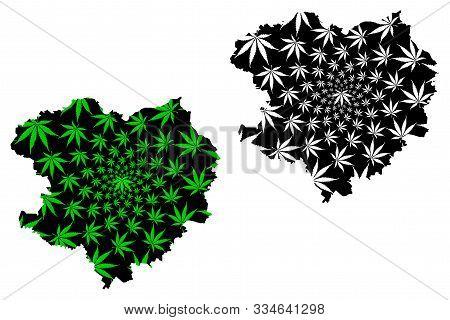 Kharkiv Oblast (administrative Divisions Of Ukraine, Oblasts Of Ukraine) Map Is Designed Cannabis Le