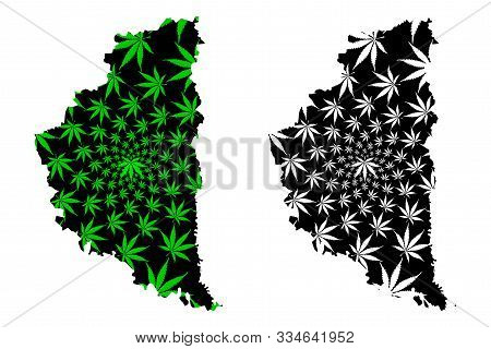 Ternopil Oblast (administrative Divisions Of Ukraine, Oblasts Of Ukraine) Map Is Designed Cannabis L