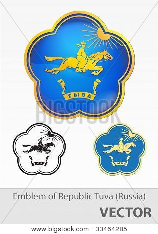 Gerb Republic Of Tuva