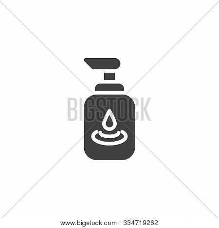 Lubricating Gel Vector Icon. Filled Flat Sign For Mobile Concept And Web Design. Personal Lubricant