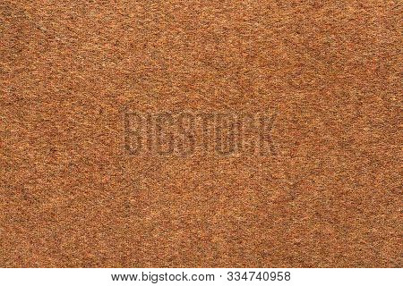 Texture Woolen Cashmere Fabric Brown. Soft Cashmere Background.