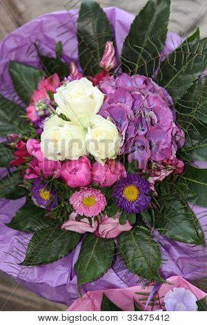 Beautiful Round Floral Bouquet