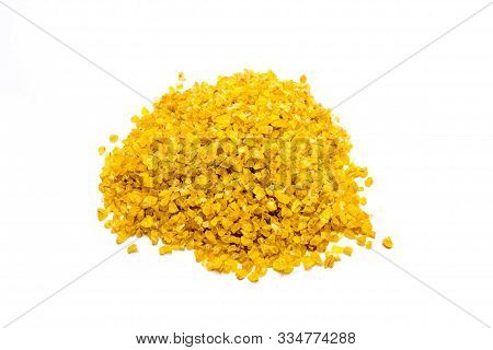 Bulgur Isolated On White Background Cut Out