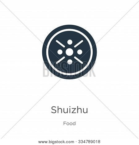 Shuizhu Icon Vector. Trendy Flat Shuizhu Icon From Food Collection Isolated On White Background. Vec