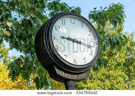 Penn State Clock Of 2002 At Penn State University