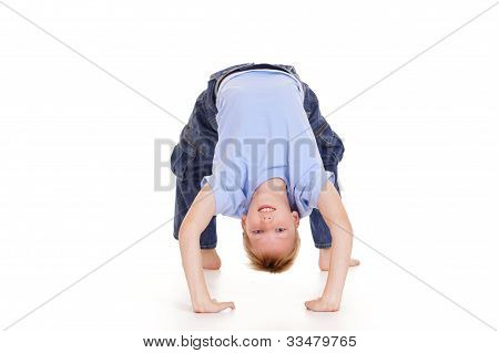 Kid And Gymnastics