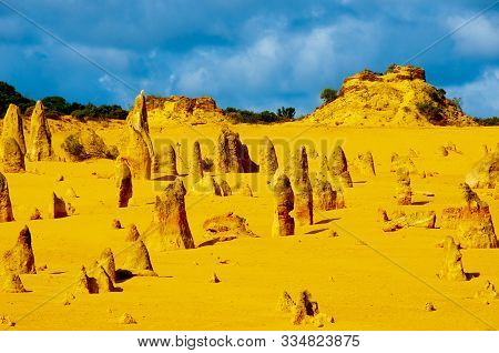 The Pinnacles Rock Formation - Western Australia