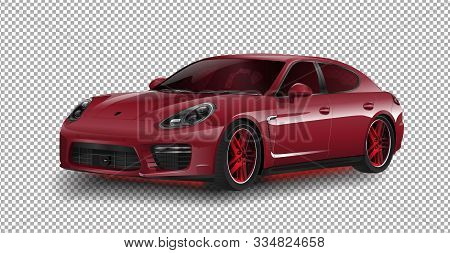 Geneva, Switzerland - March 7, 2017: New 2018 Porsche 911 Gt3 Sports Car Porsche Vector Illustration