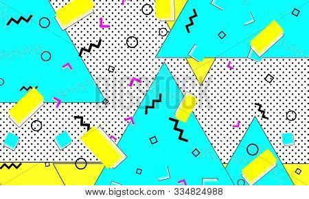 Navy Illustration. Cute Pattern. Cartoon Honey Print. Flat Decor. Summer Ultramarine Backdrop. Musta