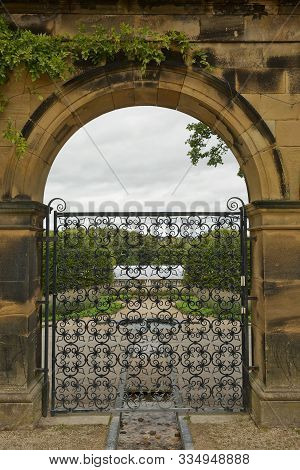 Alnwick Garden - A Contemporary Pleasure Gardens Adjacent To Alnwick Castle In Northumberland County