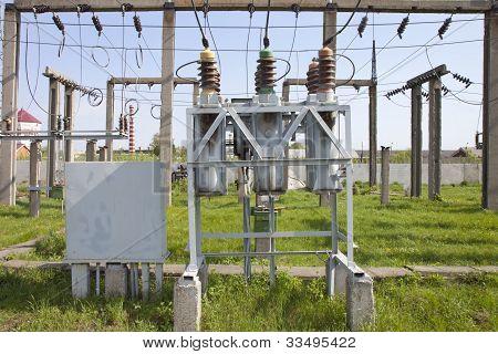 High-voltage Substation