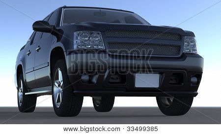 Large 4X4 Vehicule