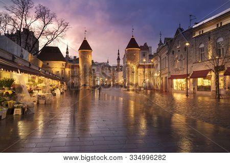Towers Of Medieval Tallinn