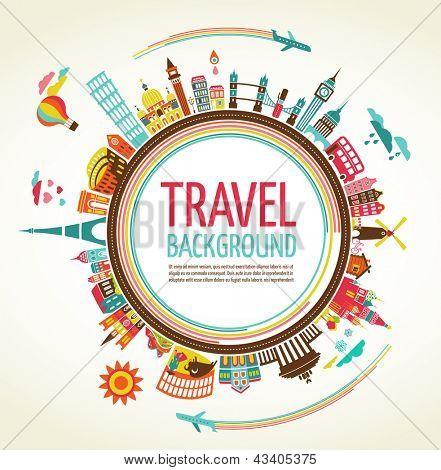 Antecedentes de viajes y Turismo