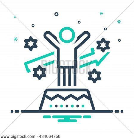 Mix Icon For Motivation Motive Incentive Stimulus Inspiration Catalyst Encouragement Achievement