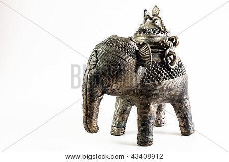 Pewter Indian Elephant