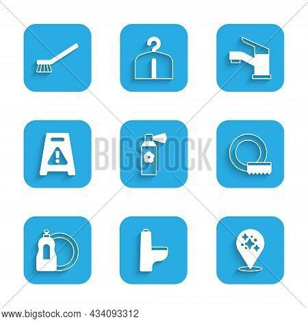 Set Air Freshener Spray Bottle, Toilet Bowl, Home Cleaning Service, Washing Dishes, Dishwashing Liqu